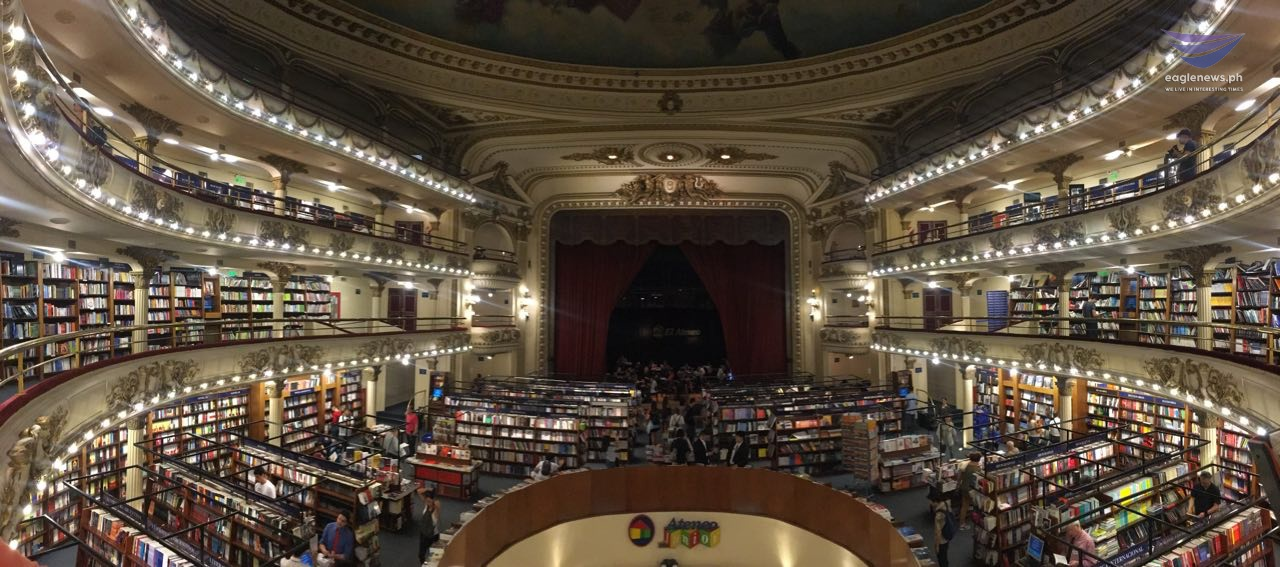 #EBCphotojournalism:  El Ateneo Grand Splendid named the world's most beautiful bookstore