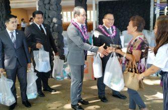 Photo by Alfred Acenas, EBC Hawaii Bureau, Eagle News Service.