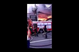 6 people hurt in QC fire