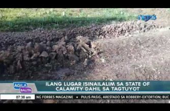 Zamboanga City, 4 other towns in North Cotabato placed under state of calamity due to El Niño