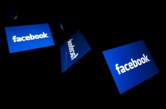 "(FILES) This illustration file picture shows the US social media Facebook logo displayed on a tablet in Paris on February 17, 2019. - Facebook said March 26, 2019it shut down more than 2,600 fake accounts linked to Iran, Russia, Macedonia and Kosovo and aiming to influence political sentiment in various parts of the world.It was the latest effort by the leading social network to shut down ""inauthentic"" accounts on Facebook and Instagram seeking to influence politics in the US and elsewhere. (Photo by Lionel BONAVENTURE / AFP)"