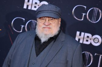 "US novelist George R. R. Martin arrives for the ""Game of Thrones"" eighth and final season premiere at Radio City Music Hall on April 3, 2019 in New York city. (Photo by Angela Weiss / AFP)"