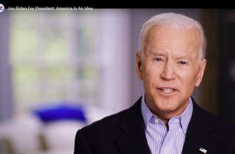 "In this still image taken from video released by the Joe Biden 2020 Presidential Campaign, former US Vice President Joe Biden on April 25, 2019, announces his bid for the presidency in the 2020 elections. - Biden jumped into the race for the White House Thursday, positioning the veteran Democrat as a frontrunner among the many candidates seeking to challenge US President Donald Trump in 2020. (Photo by HO / Joe Biden 2020 Presidential Campaign / AFP) / RESTRICTED TO EDITORIAL USE - MANDATORY CREDIT ""AFP PHOTO / Joe Biden 2020 Presidential Campaign"" - NO MARKETING NO ADVERTISING CAMPAIGNS - DISTRIBUTED AS A SERVICE TO CLIENTS"