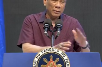 President Rodrigo Duterte on Tuesday, April 16, slammed former President Noynoy Aquino and former Interior Secretary Mar Roxas for the botched Mamasapano operation in 2015./PCOO/