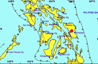 A 4.6-magnitude aftershock was recorded in Eastern Samar after a 6.5-magnitude quake hit the province on Tuesday, April 23./PHIVOLCS/