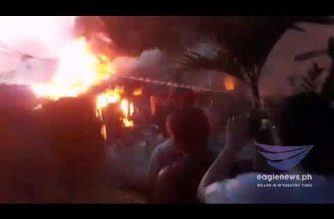 Watch:  Raging fire in Bgy. Bahay Toro in Quezon City