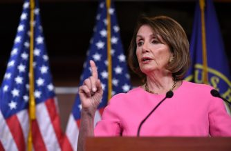 US House Speaker Nancy Pelosi speaks during her weekly press conference at the US Capitol in Washington, DC, on May 23, 2019. (Photo by MANDEL NGAN / AFP)