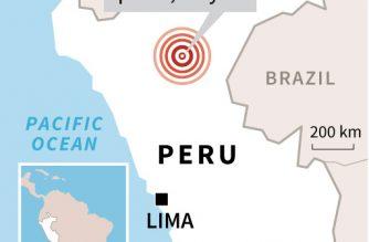 Strong 8.0-magnitude earthquake hits Peru