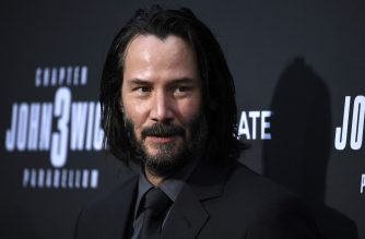 "HOLLYWOOD, CALIFORNIA - MAY 15: Keanu Reeves attends the special screening of Lionsgate's ""John Wick: Chapter 3 - Parabellum"" at TCL Chinese Theatre on May 15, 2019 in Hollywood, California.   Frazer Harrison/Getty Images/AFP"