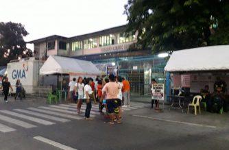 Sa Rosauro Almario Elementary School, VRVMs ang hindi gumana nitong Lunes, ika-13 ng Mayo./Moira Encina/Eagle News/