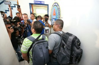 "Peter Joemel Advincula, who claims to be ""Bikoy"" in the ""Ang Totoong Narco-list"" videos against President Rodrigo Duterte, his family and some of his allies, left Camp Crame on Saturday afternoon./PNP PIO/"