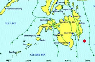 3.9-magnitude quake hits Davao Oriental