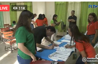 JUST IN: Duterte casts his vote in Davao polling precinct