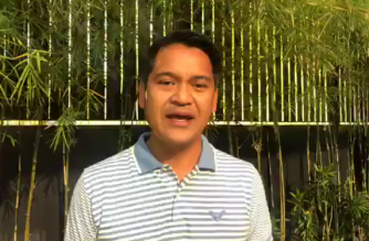 Former broadcast journalist Jiggy Manicad has accepted defeat in the 2019 Senate polls. /Screengrab Jiggy Manicad FB video/