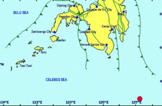 3.0-magnitude quake hits Davao Occidental