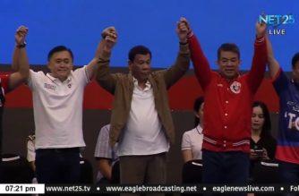 Comelec declares PDP-Laban as dominant majority party, Nacionalista party as dominant minority party
