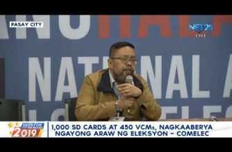 Comelec finds 1,000 defective SD cards, 450 faulty VCMs; delay in transmittal of votes noted