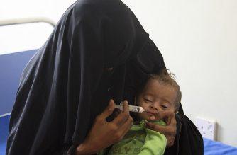 © UNICEF/Taha Almahbashi Millions of children across Yemen face serious threats due to malnutrition, (file 2018)