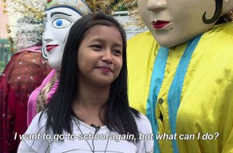 Masters of puppets: Indonesia's 'Ondel-Ondel' kids