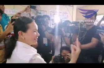 Watch:  Senator Grace Poe finally gets to vote after voting machine anomaly earlier