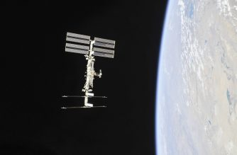"(FILES)  This NASA photo obtained November 4, 2018 shows the International Space Station photographed by Expedition 56 crew members from a Soyuz spacecraft after undocking. - NASA said on June 7, 2019, it will open up the International Space Station for tourism and other business ventures as of next year, as it seeks to financially disengage from the orbiting research lab. (Photo by HO / NASA / AFP) / RESTRICTED TO EDITORIAL USE - MANDATORY CREDIT ""AFP PHOTO / NASA/ROSCOSMOS"" - NO MARKETING NO ADVERTISING CAMPAIGNS - DISTRIBUTED AS A SERVICE TO CLIENTS"