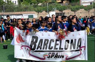 The first-ever Unity Games in Spain was held recently by members of the Iglesia Ni Cristo (Church Of Christ) with participants coming from different parts of Spain.  (Photo contributed by Lyn Tumabag Diez, EBC Spain Bureau)