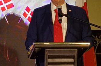 Danish Ambassador Jan Top Christensen