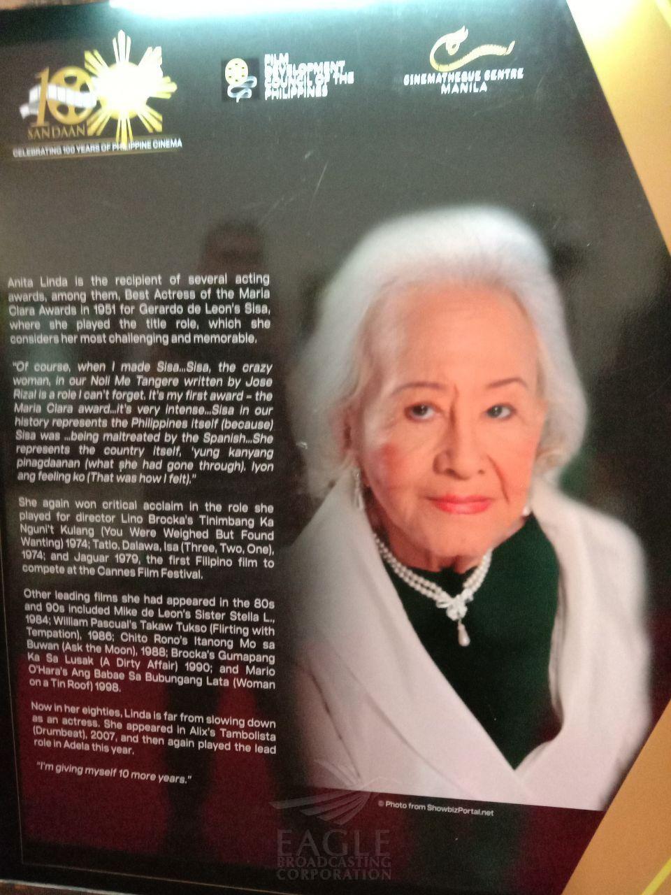 FDCP honors veteran actress and legend, Anita Linda