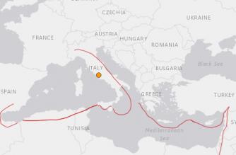 Mild earthquake hits near Rome: institute