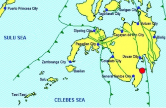 3.0-magnitude quake hits Davao Occidental
