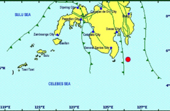 3.8-magnitude quake hits Davao Occidental