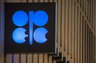 (FILES) In this file photo taken on November 29, 2016, the logo of OPEC is pictured at the OPEC headquarters on the eve of the 171th meeting of the Organization of the Petroleum Exporting Countries in Vienna. - OPEC is on red alert over escalating US-Iran tensions that fuelled strong oil-price gains -- but the cartel and other crude-producing nations are unlikely to end output cuts at a meeting on July 2, 2019. The Organization of the Petroleum Exporting Countries, a cartel of 14 countries pumping one third of the world's oil, is acutely aware that a faltering global economy is sapping growth in crude demand, helping to offset fears of potential supply disruptions in the Middle East. (Photo by JOE KLAMAR / AFP)