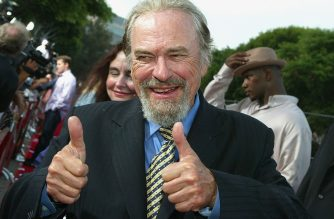 "(FILES) In this file photo taken on June 14, 2004  actor Rip Torn attends the world premiere of the Twentieth Century Fox film ""Dodgeball"" at the Mann Village Theater  in Westwood, California. - Oscar-nominated actor Rip Torn, best known for his roles in the cult TV series ""The Larry Sanders Show"" and the Hollywood blockbuster ""Men in Black"", died at the age of 88 on July 9, 2019, his publicist said. Torn built a reputation as a formidable actor in film, TV and theater, and was also known for his volatility -- he once admitted he ""got angry easily"", according to The New York Times. (Photo by Kevin Winter / GETTY IMAGES NORTH AMERICA / AFP)"
