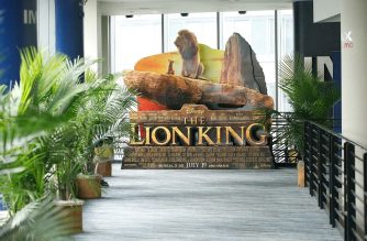 """NEW YORK, NY - JULY 17: IMAX private screening for the movie """"The Lion King"""" at AMC Loews Lincoln Square theatre on July 17, 2019 in New York City.   Lars Niki/Getty Images for IMAX/AFP"""