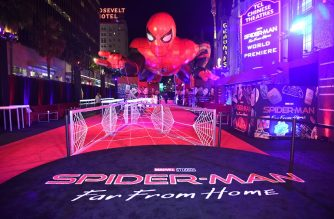 "HOLLYWOOD, CALIFORNIA - JUNE 26: A general view is shown at the after party for the premiere of Sony Pictures' ""Spider-Man: Far From Home"" on June 26, 2019 in Hollywood, California.   Kevin Winter/Getty Images/AFP"