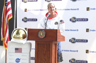 Cradle of Aviation in NY celebrates Apollo at 50