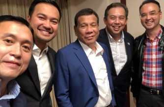 "Photo courtesy Facebook page of Senator Christopher ""Bong"" Go.    (Photo taken on May 29, 2019)"