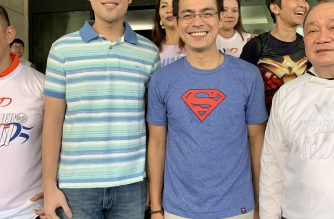 Young mayors Vico Sotto of Pasig and Isko Moreno of Manila pose for a picture together on Saturday, July 20. This was the first time the two met. /Manila PIO/