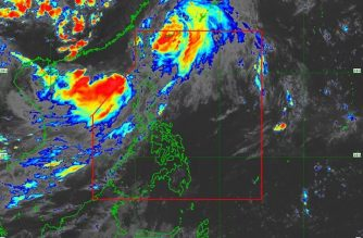 """Falcon"" now outside PAR; LPA seen to develop into tropical depression within 36 hours"