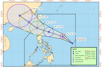 LPA east of Samar turns into tropical depression Falcon; rains expected in the next two days