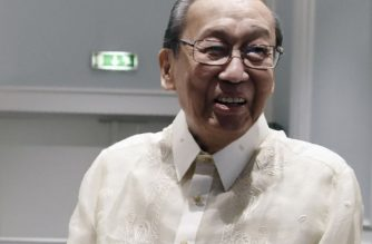 (File photo) Chief of the National Democratic Front of Philippines (NDFP) Jose Maria Sison during the opening ceremony of the formal peace talks between the Philippine government and the (NDFP) in Rome on 19 January 2017. (Photo cropped from AFP photo by TIZIANA FABI / AFP)