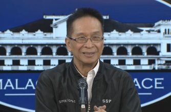 Presidential Spokesperson Salvador Panelo during his press briefing on July 11, 2019 in Malacanang.  (Photo grabbed from RTVM/Courtesy RTVM)