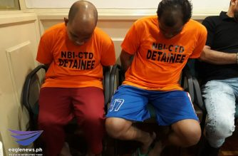 The two alleged members of the Abu Sayyaf had planned to bomb Metro Manila prior to their arrest, authorities said on Wednesday, July 24. Moira Encina/Eagle News/