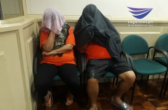 Two Bureau of Internal Revenue officials were arrested for allegedly extorting P75 million. /Moira Encina/Eagle News/