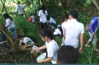 "Almost 1,000 tree seedlings planted in La Mesa Dam watershed during ""EBC Cares"" activity"