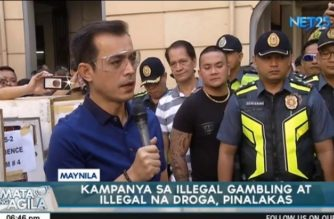 Manila mayor Moreno vows more vigorous campaign vs illegal gambling, illegal drugs after street cleanup