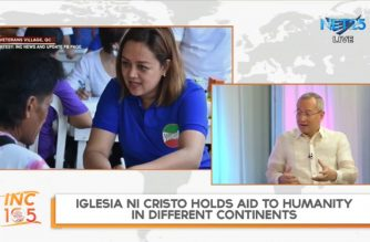 On its 105th year, Iglesia Ni Cristo in 152 countries, continuing to help communities worldwide