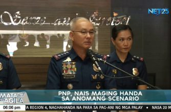 "PNP all over the country now on ""full alert"" status as security preps for SONA put in place"