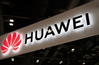 (FILES) In this file photo taken on August 02, 2019 a Huawei logo is seen during the Consumer Electronics Expo in Beijing. - The US administration unveiled rules August 7, 2019, formally banning technology giant Huawei and other Chinese firms from government contracts, in the latest move in an escalating trade war. (Photo by FRED DUFOUR / AFP)