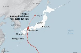 Powerful Japan storm turns deadly, snarls holiday travel